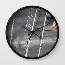 The Bowery, NYC 2011 Wall Clock