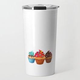 Cupcake Whisperer Bakery Chef Pastry Funny T-Shirt Travel Mug