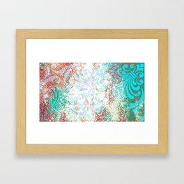 Douce passion - Sweet feeling Framed Art Print