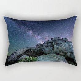 Milky Way Rock Rectangular Pillow