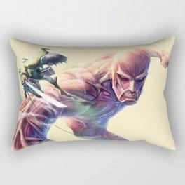 Attack On Titan SHow up Rectangular Pillow