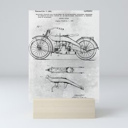 Motorcycle Mini Art Print