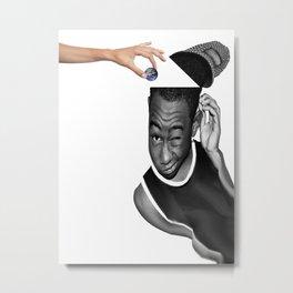 Open your mind Metal Print