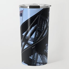 Sydney Harbour Bridge and Flag. Australia. Travel Mug