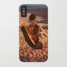 Sand Woman iPhone Case
