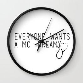 MC-Dreamy Wall Clock