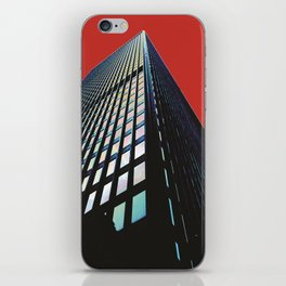 ...top floor the view alone will leave you breathless! iPhone Skin