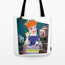 Lucy Is Your Vitameatavegamin Girl Tote Bag