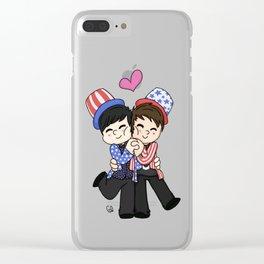 TATINOF USA Clear iPhone Case
