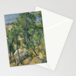 View of the sea at L'Estaque Stationery Cards