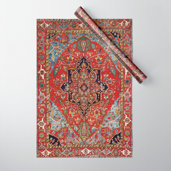 Heriz  Antique Persian Rug Print by vickybragomitchell