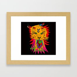 wizard lion2 Framed Art Print