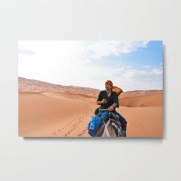 Digital Nomad Metal Print