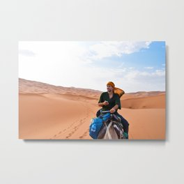Digital Nomad Metal Print