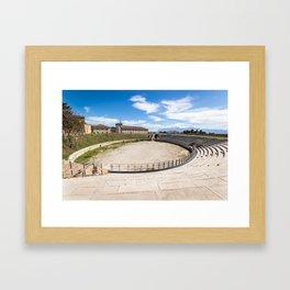 Roman Amphitheater Framed Art Print
