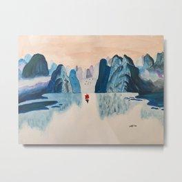 Guilin Mountains Metal Print