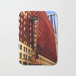 Vintage Chicago: Cadillac Palace theatre photography Bath Mat