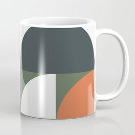 Mid Century Geometric 15 Coffee Mug