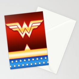 Wonder Woman Stationery Cards