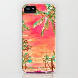 Beach at Mauna Lani Bay, Hawaii Coral iPhone Case