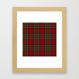 Royal Stewart Tartan Clan Framed Art Print