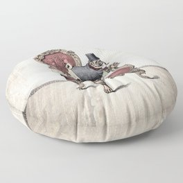 The Imperial Pug Floor Pillow