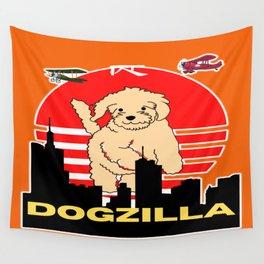 Dogzilla is back  Wall Tapestry