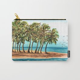 Private Island Painting Carry-All Pouch