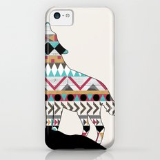 Wild Soul - Aztec Navajo Wolf iPhone 5c Slim Case