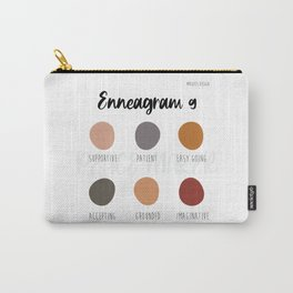 Enneagram 9 Carry-All Pouch