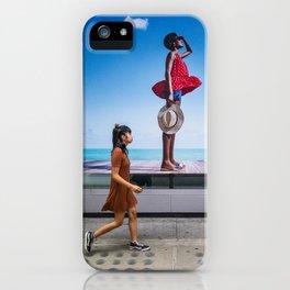 Summer Days Juxtaposition iPhone Case