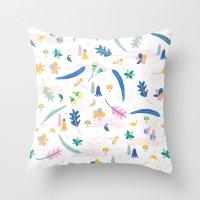 australia Throw Pillows featuring Australia by Brigitte Huynh