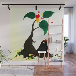 Plants and meditation #03 Wall Mural