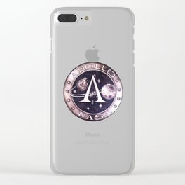 Mission to Mars Clear iPhone Case