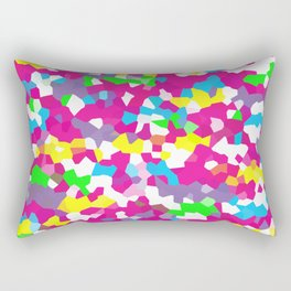 Retro Scribble Rectangular Pillow