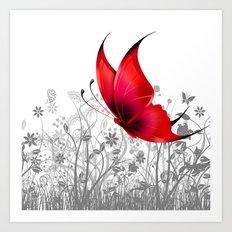 Fantasy Butterfly #10 Art Print
