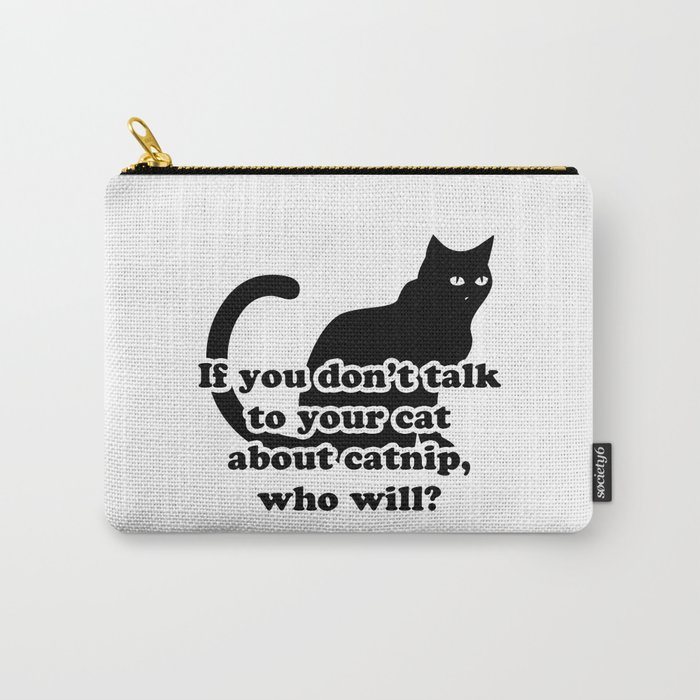 Catnip Carry-All Pouch