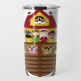 Cute Noahs Ark Travel Mug