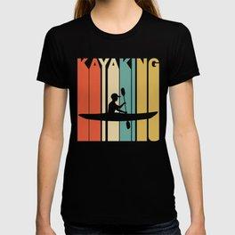 Retro Style Kayaking Kayak T-shirt