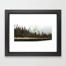 1920 - iron wolf Framed Art Print