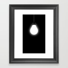 Lights Out Framed Art Print