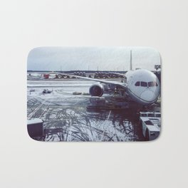 Snow Plane Bath Mat