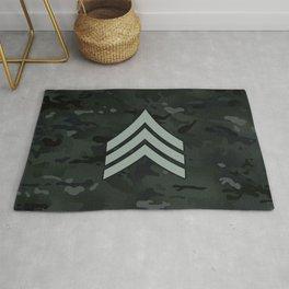 Sergeant (Black Camo) Rug