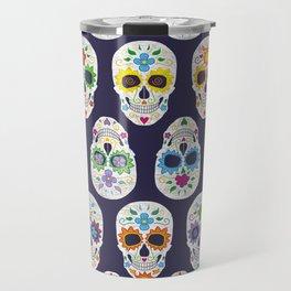 Dia de los muertos Travel Mug