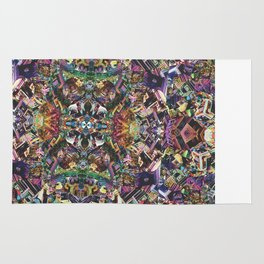 Bismuto kaleidoscope Rug