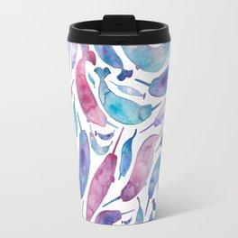 Unicorns + Mermaids = Uh-Maids...? Travel Mug
