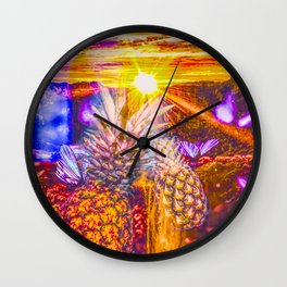A Little Drop Of Summer Wall Clock