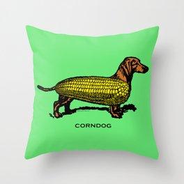 CORNDOG Throw Pillow