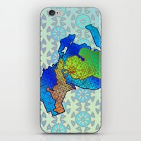 michigan iPhone & iPod Skins featuring Michigan by Dusty Goods