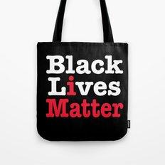 BLACK LIVES MATTER (inverse version) Tote Bag